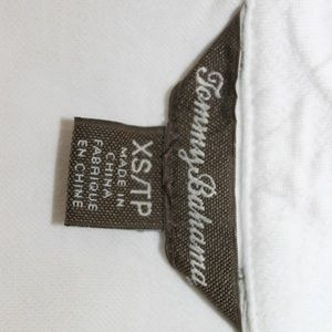 Tommy Bahama Tops - Tommy Bahama Women's XS White Half Zip Sweater